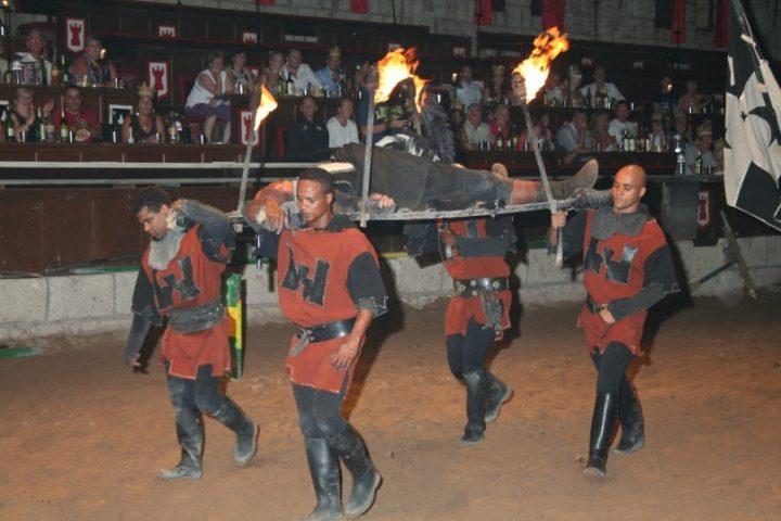 Middeleeuwse show in Tenerife: Castillo de San Miguel - 1221