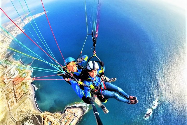Paragliding in Tenerife south - 1086
