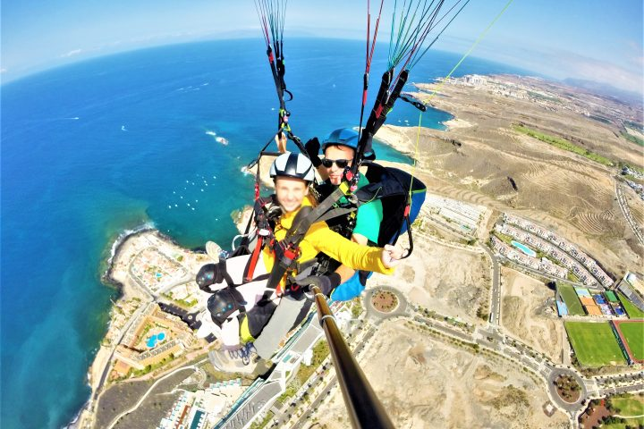 Paragliding in Tenerife south - 1091