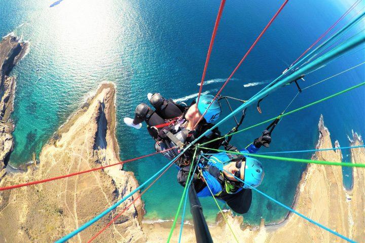 Paragliding på södra Teneriffa - 1092