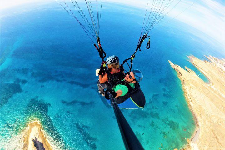 Paragliding på södra Teneriffa - 1093