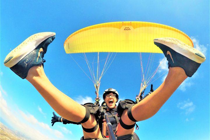 Paragliding på södra Teneriffa - 1094