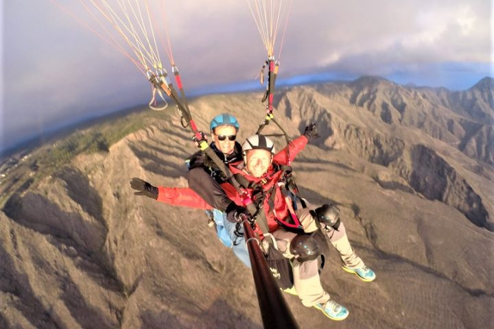 Paragliding in Tenerife south - 1095