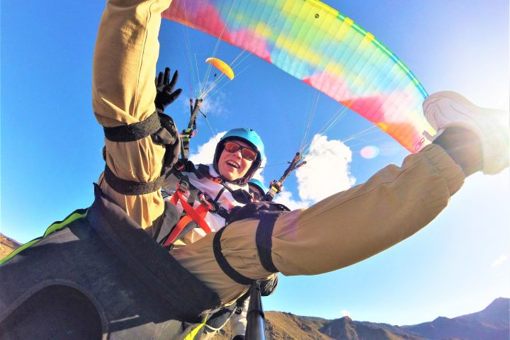 Paragliding in Tenerife south - 1087