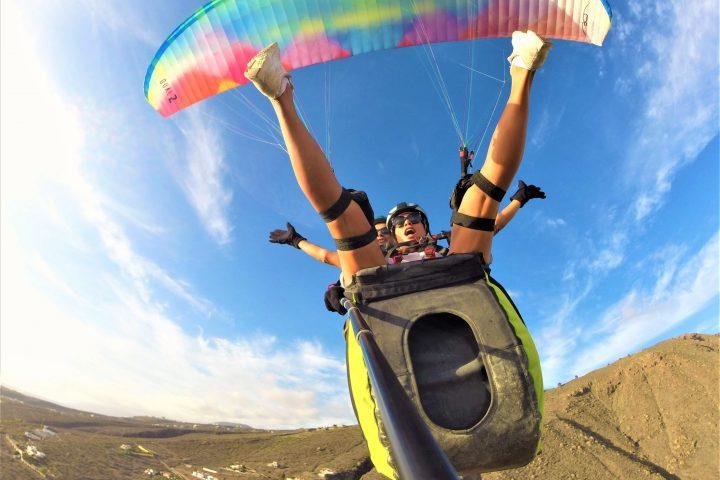 Paragliding på södra Teneriffa - 1088
