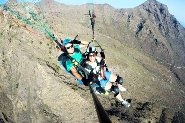 Paragliding in Tenerife south - 1089
