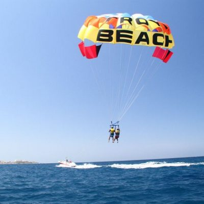 Parascending in Tenerife South - Pacote Desportivo Aquático 1: Jetski + Parascending