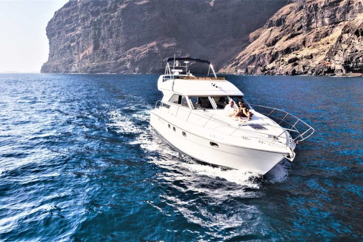Luxury Motor Boat Charter from Los Gigantes - 5070