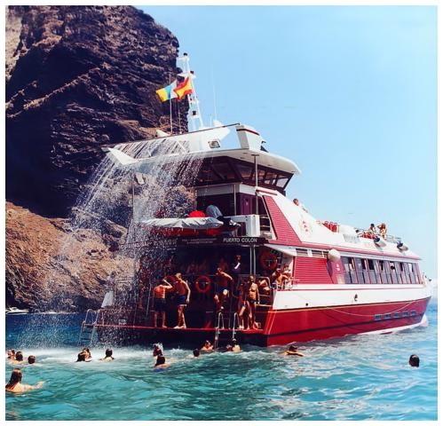 Passeios de barco na Costa Adeje