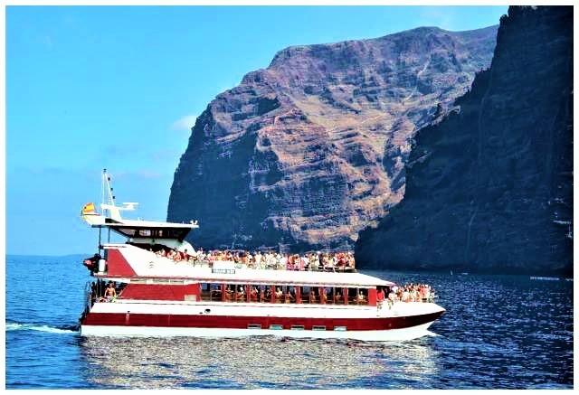 Voyages en bateau depuis Puerto de la Cruz