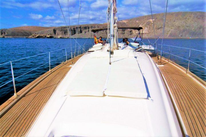 7 uur zeilboot charter op Gran Canaria - 1800