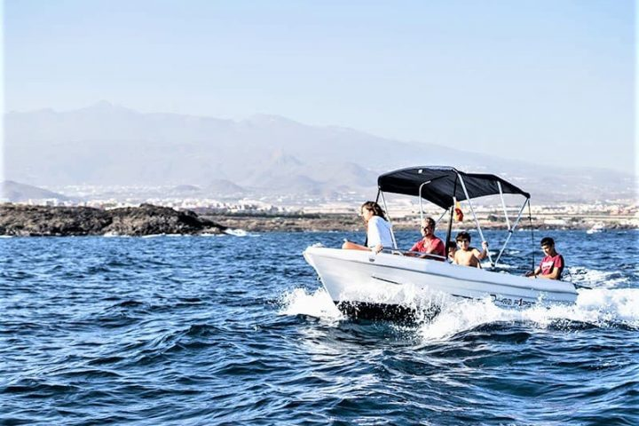 Small Motor Boat Rental without License in Tenerife - 2510