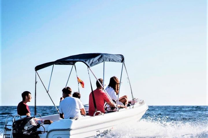 Small Motor Boat Rental without License in Tenerife - 2501