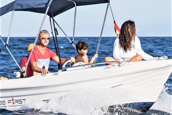 Small Motor Boat Rental without License in Tenerife - 2502
