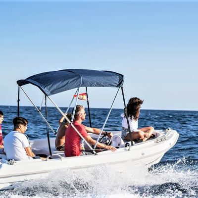 small motor boat rental with or without captain no license required (1) - Verhuur van kleine motorboten zonder vaarbewijs in Tenerife
