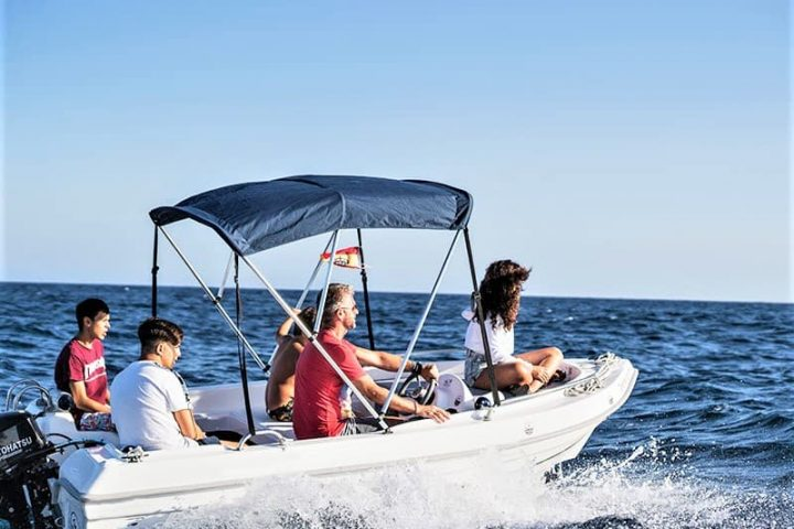 small motor boat rental with or without captain no license required (1) - Alquiler de pequeña embarcacion a motor sin licencia en Tenerife