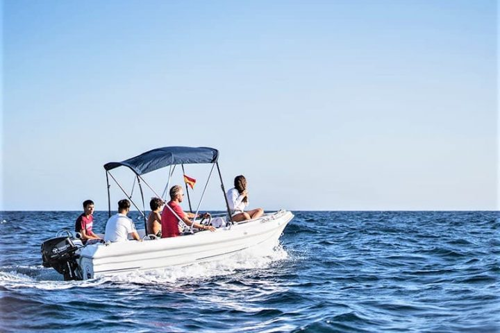 Small Motor Boat Rental without License in Tenerife - 2505
