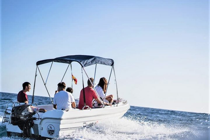 Small Motor Boat Rental without License in Tenerife - 2507