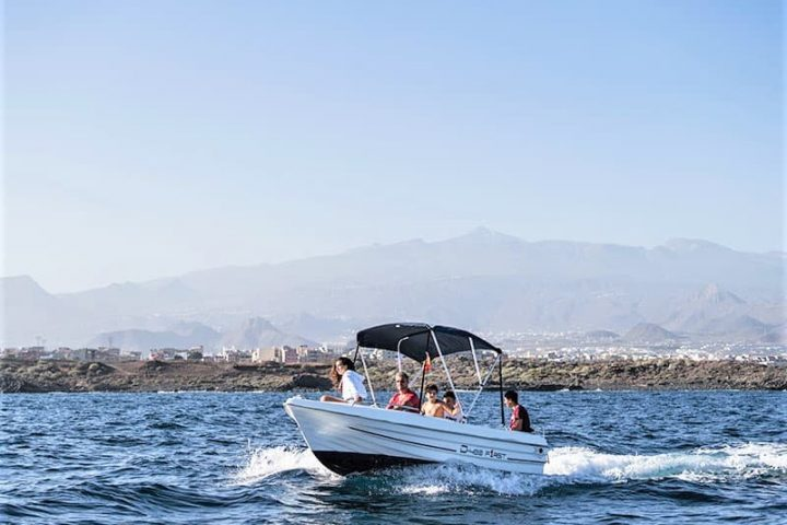 Small Motor Boat Rental without License in Tenerife - 2508