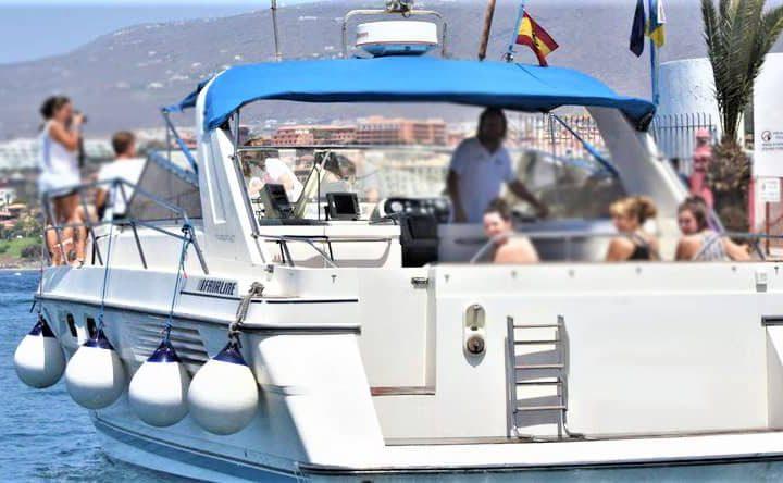 Tenerife mootorpaadi charter Fairline 42-ga - 6288