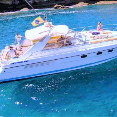Tenerife motor boat charter Fairline 42 foot - Tenerife Motorni čoln charter z Fairline 42