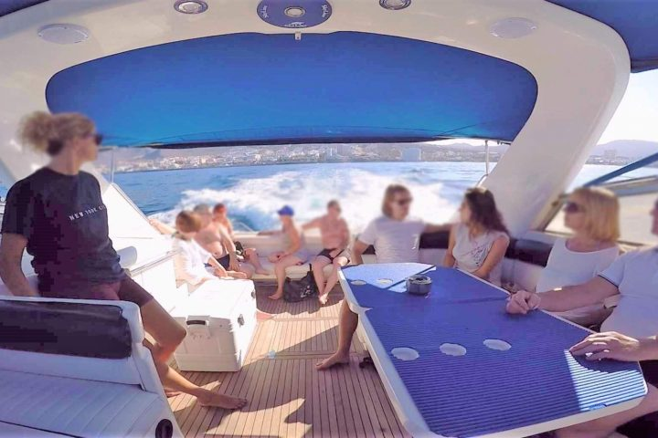 Tenerife mootorpaadi charter Fairline 42-ga - 6278