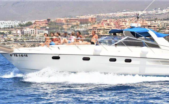 Tenerife mootorpaadi charter Fairline 42-ga - 6280