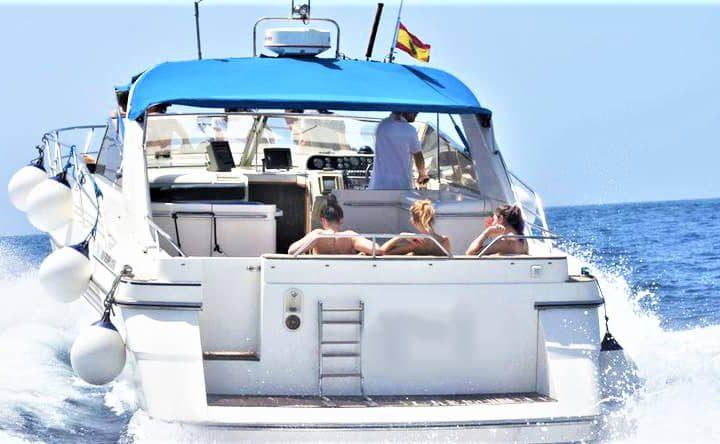 Tenerife mootorpaadi charter Fairline 42-ga - 6281
