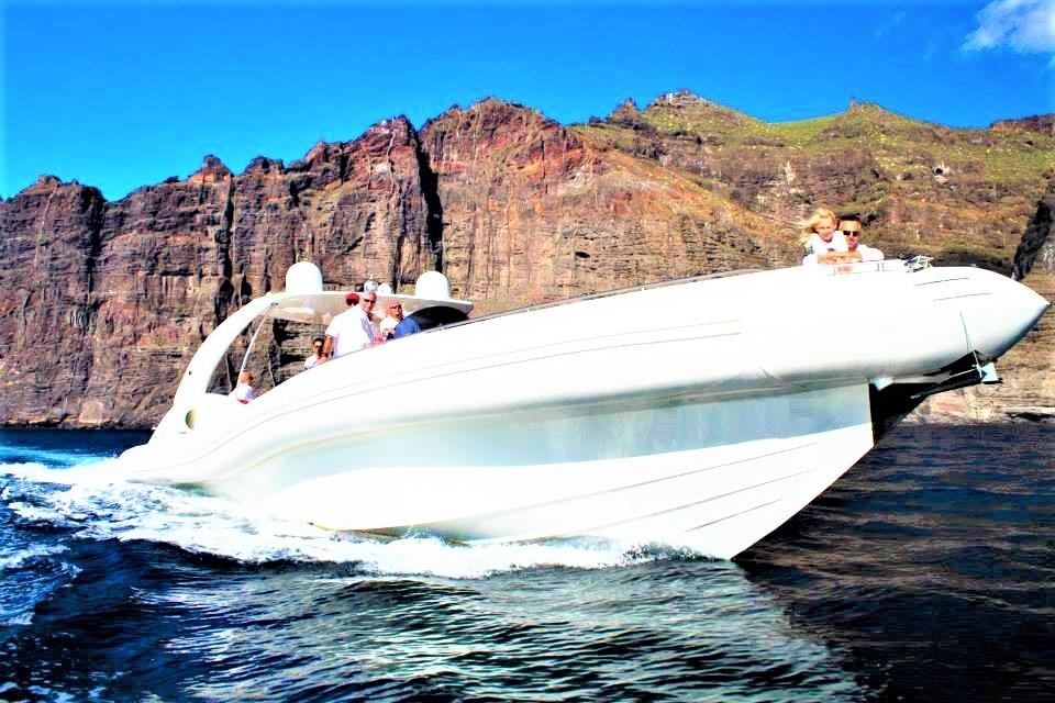 Power Boat Charter på Tenerife