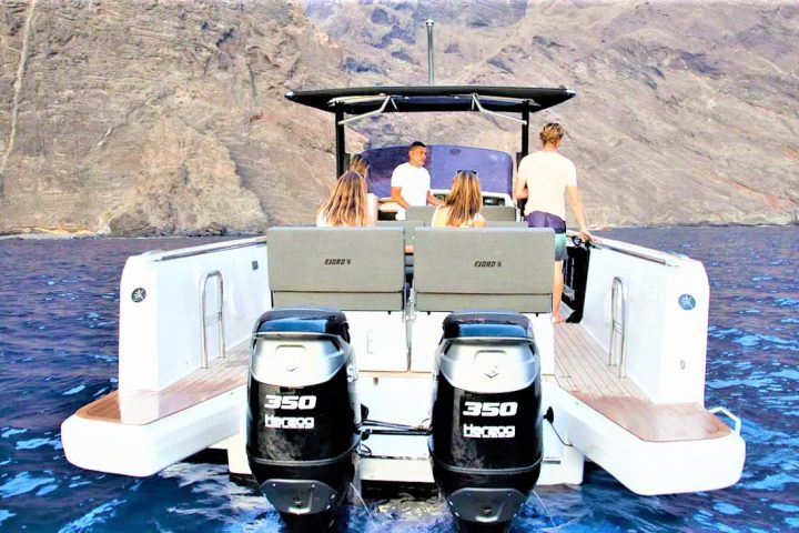 3 Hours Speed Boat Charter in Tenerife South Puerto Colon - 2449