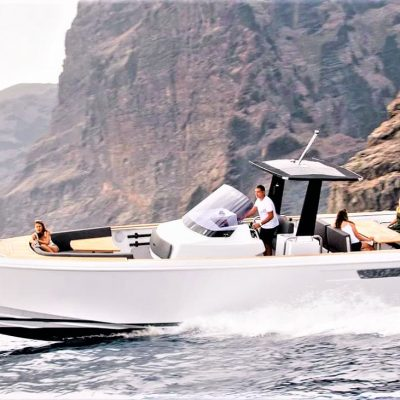 Tenerife Speed Boat Charter, Puerto Colon - 3 Hours Speed Boat Charter in Tenerife South Puerto Colon